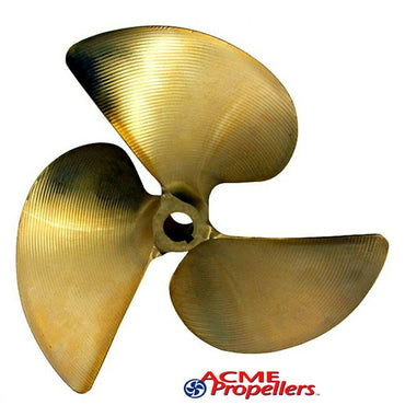 "# 470 ACME 3 BLADE PROPELLER 1"" BORE RIGHT HAND 12.50 X 15.00"