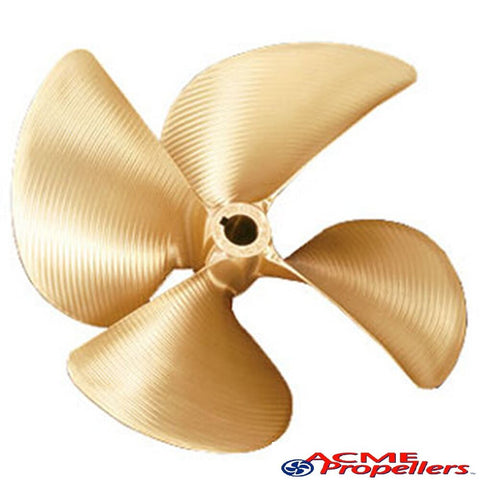 "# 2315 ACME 4 BLADE PROPELLER 1-1/8"" BORE LEFT HAND 15.00 X 12.00"