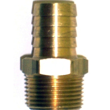 BARB THERMOSTAT HOUSING HOSE BARB BRASS STRAIGHT FITTING 3/4 INCH NPT X 3/4 INCH  OEM 50-512-019