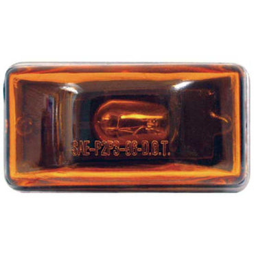SeaChoice Waterproof Clearance/Marker Light with Stud. AMBER