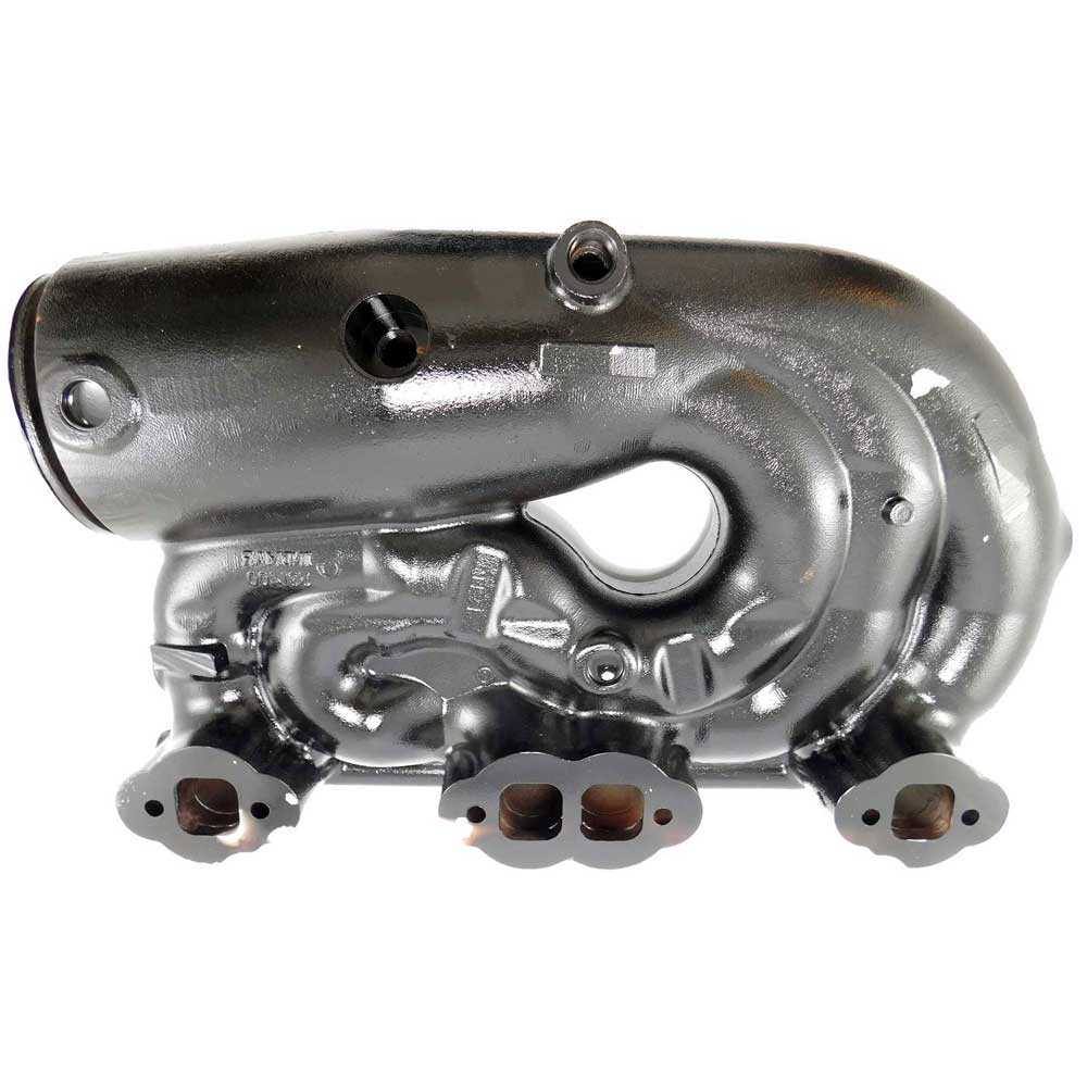 OEM Indmar one piece exhaust manifold with catalyst exhaust element for Vortec 5.7L Monsoon & 6.2L Hammerhead marine engines.