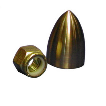 "Fair Water Cap by ACME - 1"" Or 1-1/8""Shafts Prop Not Included Cone Cap Only NiBral ACME 5580"