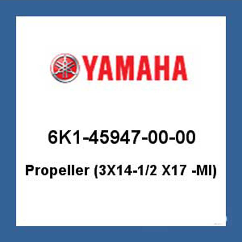 AMAHA PROP - ALUMINUM - 3 X 14.5 X 17 6K1-45947-00-00 - Replaced 6K1-45947-00-98