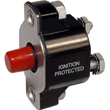 CIRCUIT BREAKER 50 AMP BLUE SEA SYSTEMS PUSH BUTTON REPLACES 805011