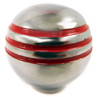 Shift Knob Grooved Throttle Knob Red Grooves Seastar Dometic CA69052P