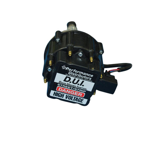 DISTRIBUTOR DUI PERFORMANCE 302 - 289 RIGHT HAND REVERSE ROTATION BLACK COLOR - DUI-M31820RRBK