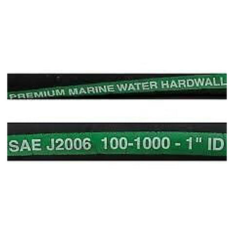 "HOSE WATER HOSE WIRE REINFORCED 1"" I.D.  100-1000"
