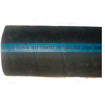 Hose Exhaust Hose Softwall Smooth Side No Wire 4 Inch I.D. Shield's Brand Hose 116-200-4004-1