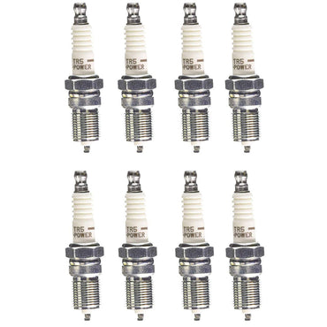 SPARK PLUG SET GM VORTEC 350 CARB OR EFI NGK-2238 SET OF 8 PLUGS REPLACES PCM R030008A
