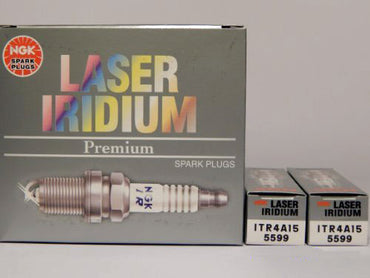 SPARK PLUG SET NGK-5599 LASER IRIDIUM ITR4A15 SET OF 8 REPLACES PCM RP030010