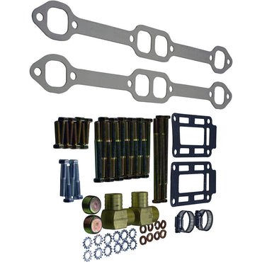 EXHAUST SERVICE INSTALLATION KIT PCM GM 5.0 - 5.7 BOTH SIDES COMPLETE SET PCM RP173091