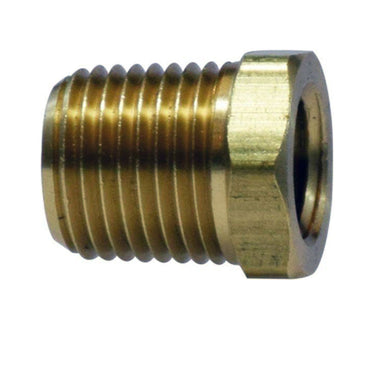 "BUSHING BRASS 1/4"" X 1/8"" BUSHING FOR OIL PRESSURE SENDER ON SOME ENGINES ORIGINAL PCM BUSHING"