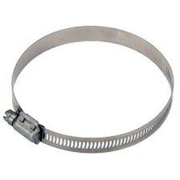 "HOSE CLAMP 4"" #64 - FOR 3-1/2 TO 4 INCH EXHAUST HOSE"