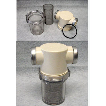 SEA STRAINER SHERWOOD COMPLETE ASSEMBLY 1-1/4 INCH NPT