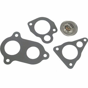 THERMOSTAT 143 DEGREE PCM FORD 351-302 RAW WATER COOLED WITH GASKET SIERRA BRAND -18-3671