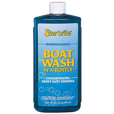 Boat Wash In A Bottle 16 Oz Star Brite