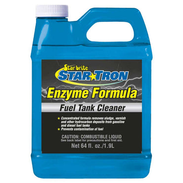 FUEL TANK CLEANER STAR TRON BY STAR BRITE 64 OUNCE BOTTLE 093664
