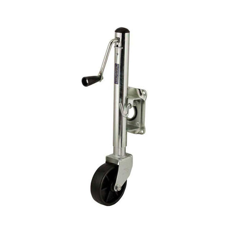 Jack Fulton Trailer Jack Swivel Swing Up 1200 Lb. Bolt On Includes All Hardware TJ12000101