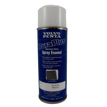 Volvo Penta 3851219 12 oz. SX Silver Touch Up Spray Paint