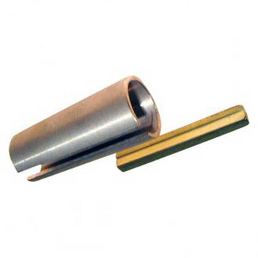 "BORE REDUCER BRONZE ACME BUSHING REDUCES FROM 1-1/4"" DOWN TO 1-1/8"" BORE ACME # BUSHBB7"
