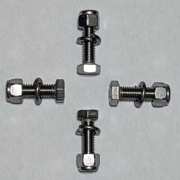 COUPLING BOLT HARDWARE SET FOR A.R.E. DRIVE SHAFT SYSTEM USED ON THE 4 INCH COUPLER