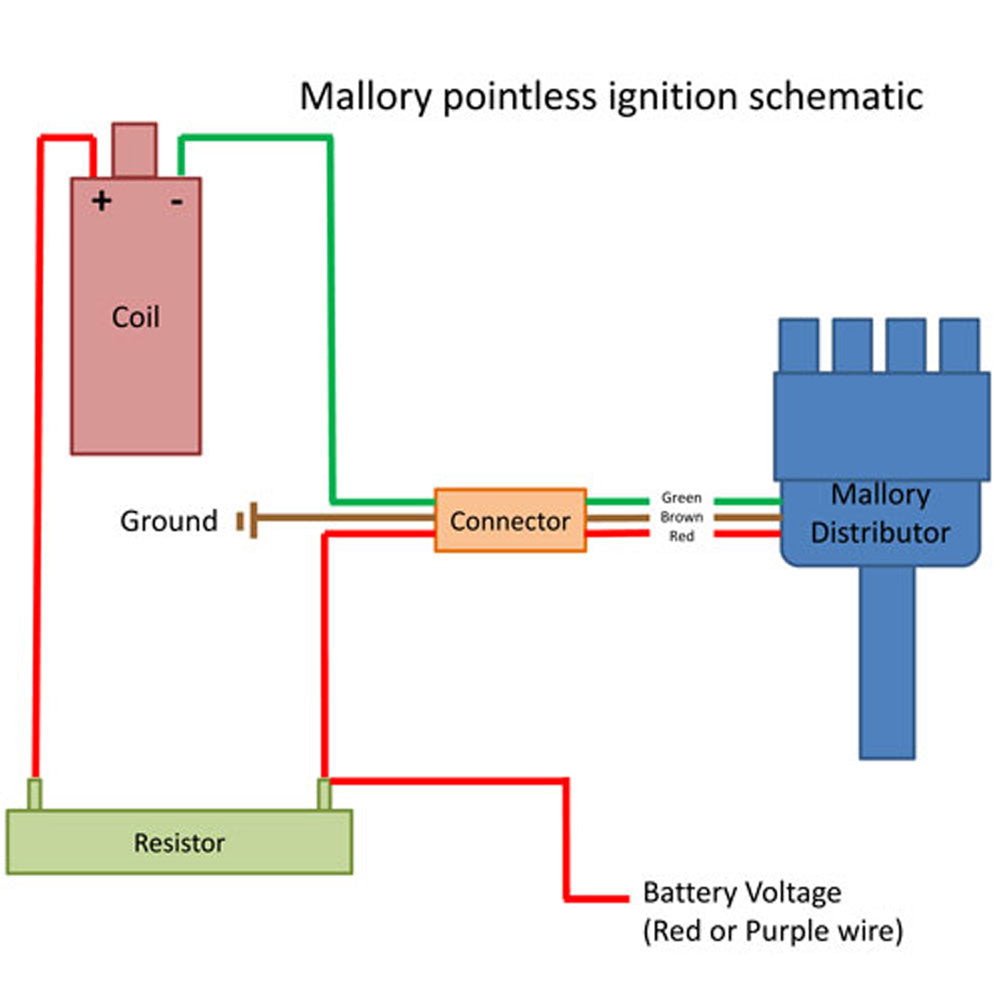 Mallory Dist Wiring Diagram on mallory distributor diagrams, mallory distributor identification, mallory wiring electonic, mallory distributor 2wire,