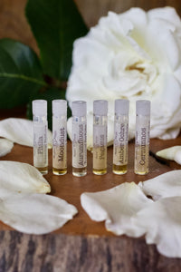 Botanical Perfume Sample set by Moon Magic