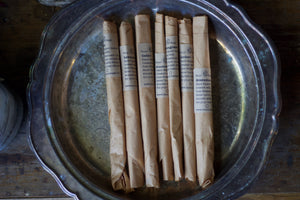 Incense Sampler, fresh dipped, botanical incense