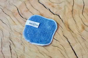 Amrita Lapis Lazuli Face Cloth, Organic Herbal Washcloth for dry + acne + combination skin care