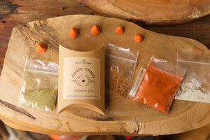 Desire Moon Incense kit, DIY cones, pocket sized