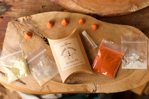 Heart Moon DIY incense kit, pocket sized