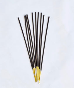 Cedar incense, Botanical hand-dipped