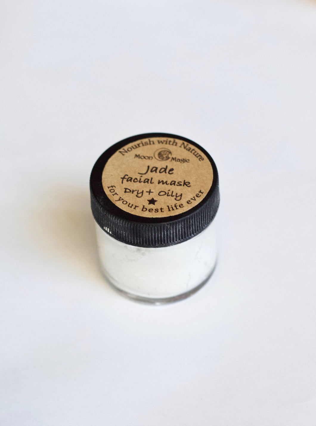 Jade Facial mask, for dry and oily skin