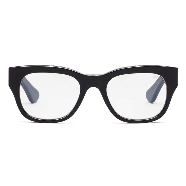 Caddis Miklos Reading Glasses in Gloss Black