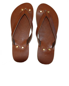 Penny Lane Flip Flops in Original Leather