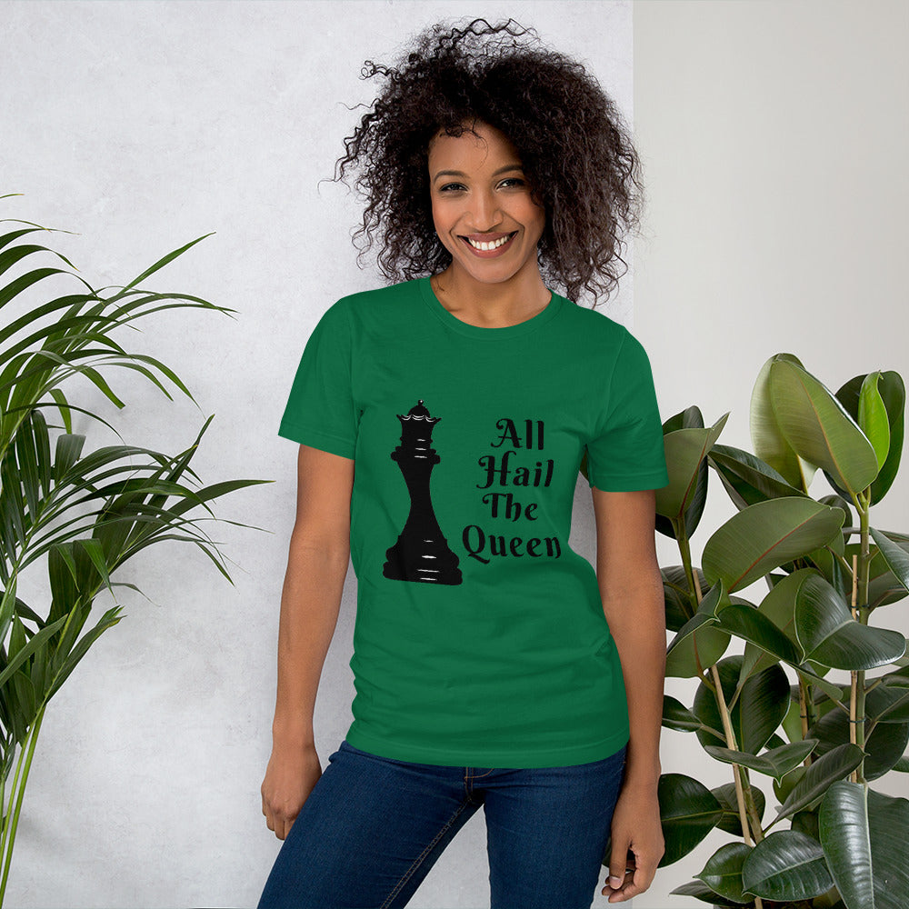 Chess Queen Short-Sleeve Unisex T-Shirt