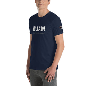 Villain Short-Sleeve Unisex T-Shirt