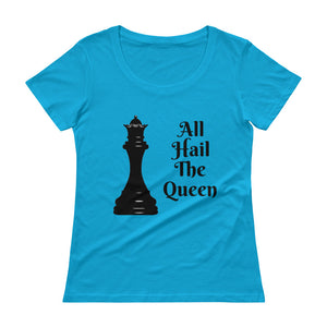 Chess Queen OWA Ladies' Scoopneck T-Shirt