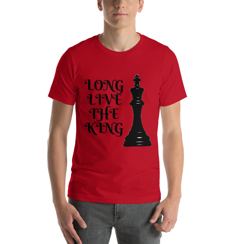 Chess King Short-Sleeve Unisex T-Shirt