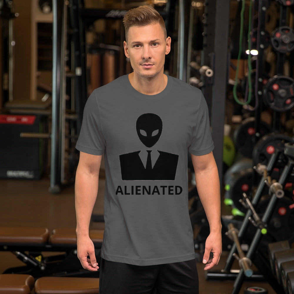 Alienated Unisex Short Sleeve Jersey T-Shirt