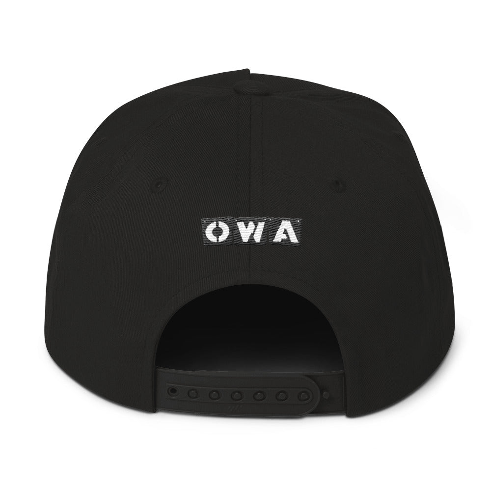 OWA Spaceship Blast Flat Bill Cap