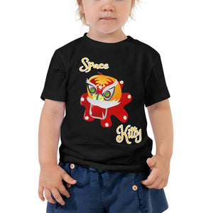 Space Kitty - Toddler Short Sleeve Tee