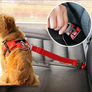 Dog Car Safety Seat Belt - Riror
