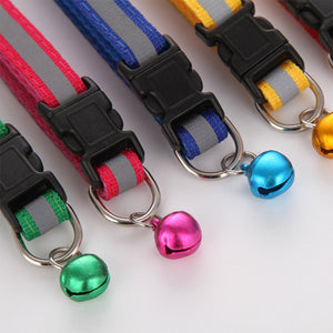 Reflective Collar With Bell - Riror