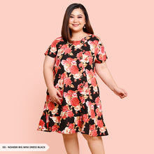 Load image into Gallery viewer, Y&F Nohemi Flowery Ruffle Big Mini Dress
