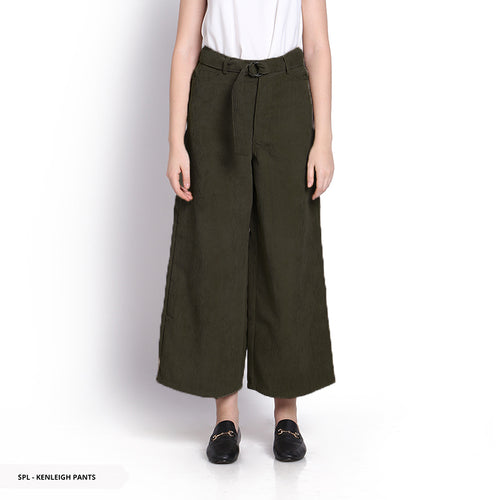 Stilo Kenleigh Texture Culottes Reguler Long Pants Sale 35%