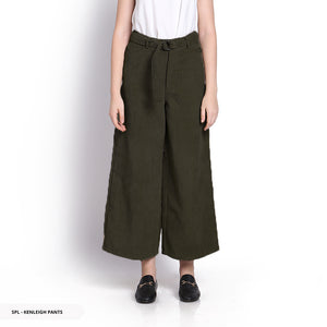 Stilo Kenleigh Texture Culottes Reguler Long Pants