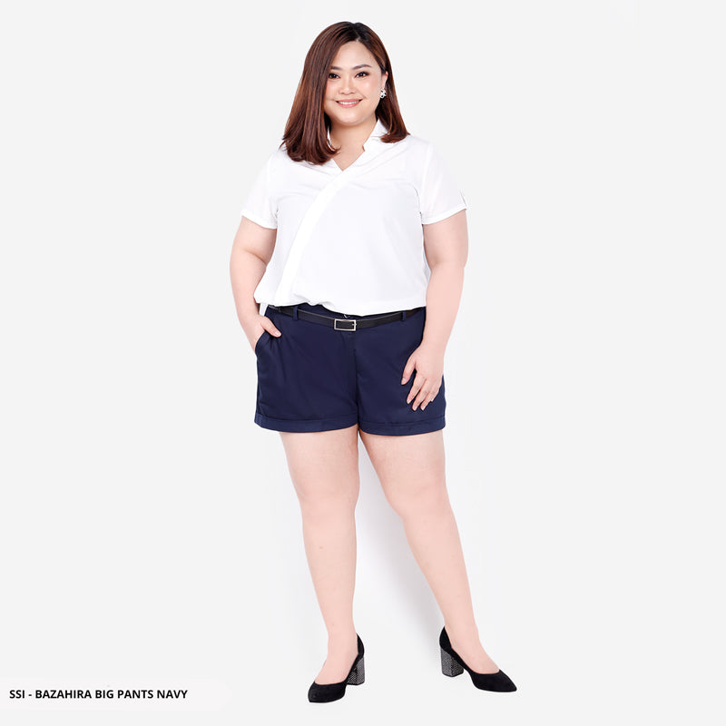 Bazahira Plain Casual Big Short Pants