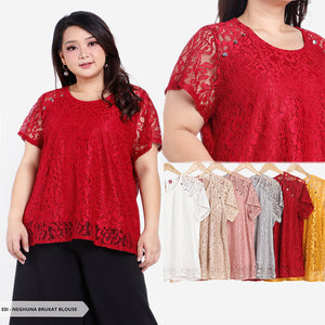 Neghuna Brukat Simple Big Blouse SALE 30%
