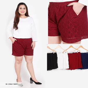 Syailv Lace Casual Big Short Pants